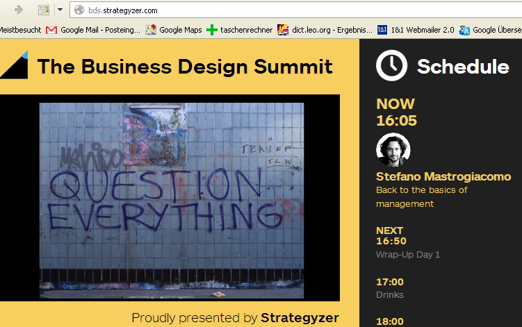 Pic Business Design Summit 2013 Berlin