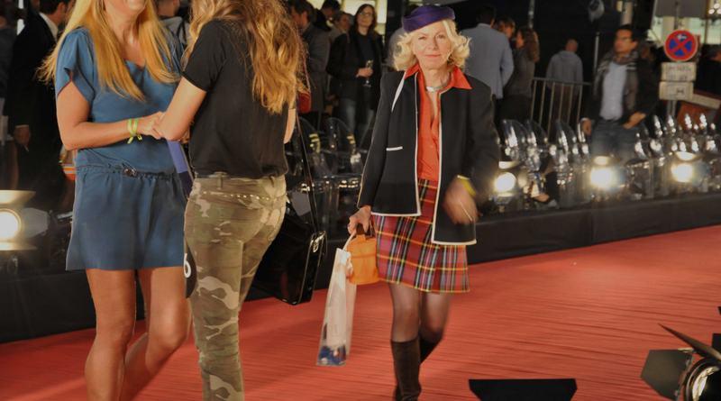 Gaby Barton Galeries Lafayette Modenschau 2012