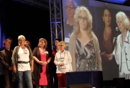 Gaby Barton auf GSA Convention