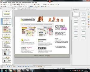 BusinessWorld.de Folie zu Videoportal