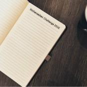 Kaffee & Notizbuch mit Titel Nischenseiten Challenge 2016