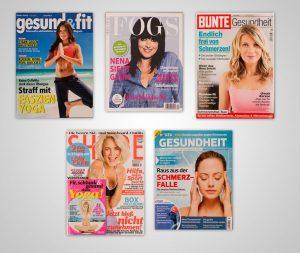 Zeitschriften Titel über Fayo Faszien Yoga